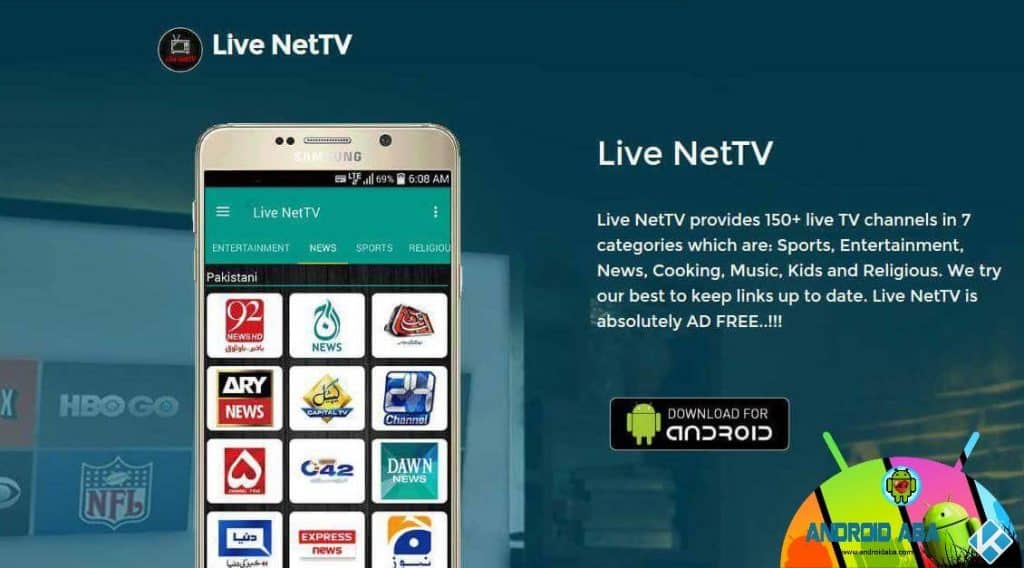 live nettv apk download for android box
